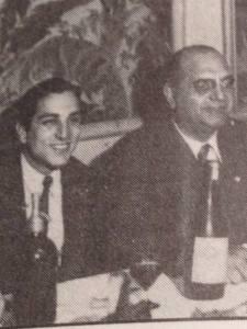 Walter Cabral con Lomuto